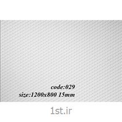 عکس سایر مصالح ساختمانی پلاستیکیورق پی وی سی پرسی طرح دار کد 029