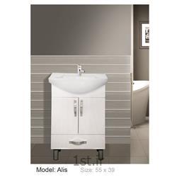 کابینت تمام pvc دستشویی و حمام Alis