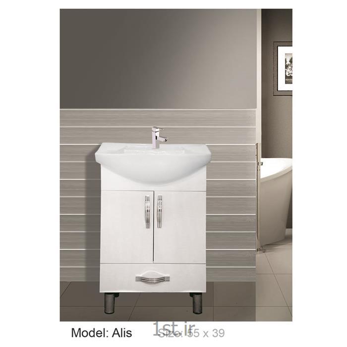 عکس کمد حمام و توالتکابینت تمام pvc دستشویی و حمام Alis