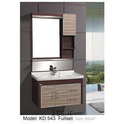 کابینت تمام pvc دستشویی و حمام مدل KD 543