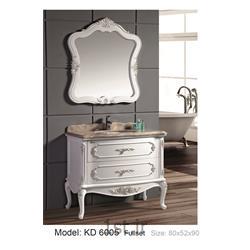 عکس کمد حمام و توالتکابینت تمام pvc دستشویی و حمام مدل KD 6005
