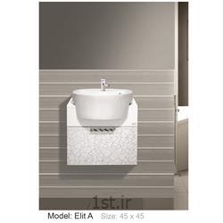عکس کمد حمام و توالتکابینت تمام pvc دستشویی و حمام Elit A