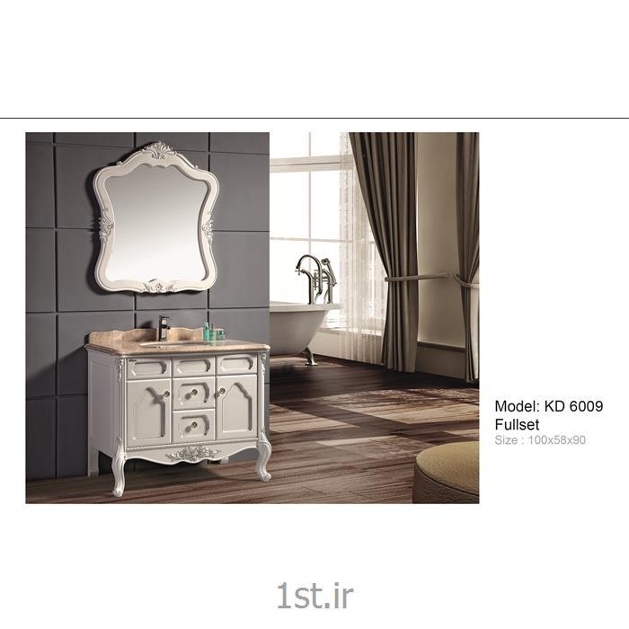 کابینت تمام pvc دستشویی و حمام مدل KD 6009