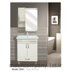 کابینت تمام pvc دستشویی و حمام مدل 0041