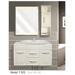 کابینت تمام pvc دستشویی و حمام مدل 523 T