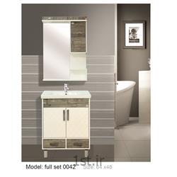 عکس کمد حمام و توالتکابینت تمام pvc دستشویی و حمام مدل 0042