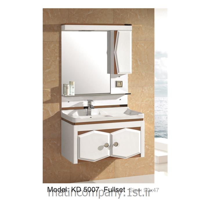 کابینت تمام pvc دستشویی و حمام مدل KD 5007