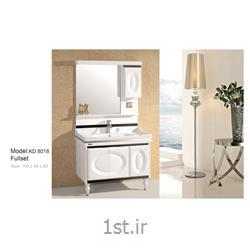 کابینت تمام pvc دستشویی و حمام مدل KD 8018