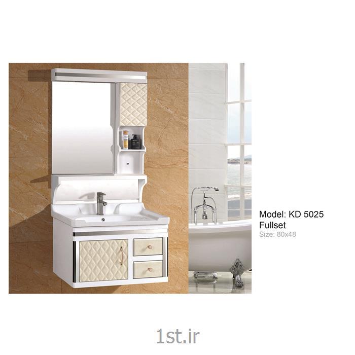 کابینت تمام pvc دستشویی و حمام مدل KD 5025