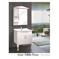 عکس کمد حمام و توالتکابینت تمام pvc دستشویی و حمام مدل 8008 T