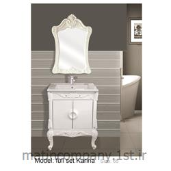 عکس کمد حمام و توالتکابینت تمام pvc دستشویی و حمام کاترینا