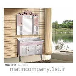 عکس کمد حمام و توالتکابینت تمام pvc دستشویی و حمام مدل 017