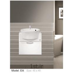 عکس کمد حمام و توالتکابینت تمام pvc دستشویی و حمام Elit