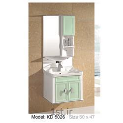 عکس کمد حمام و توالتکابینت تمام pvc دستشویی و حمام مدل KD 5026