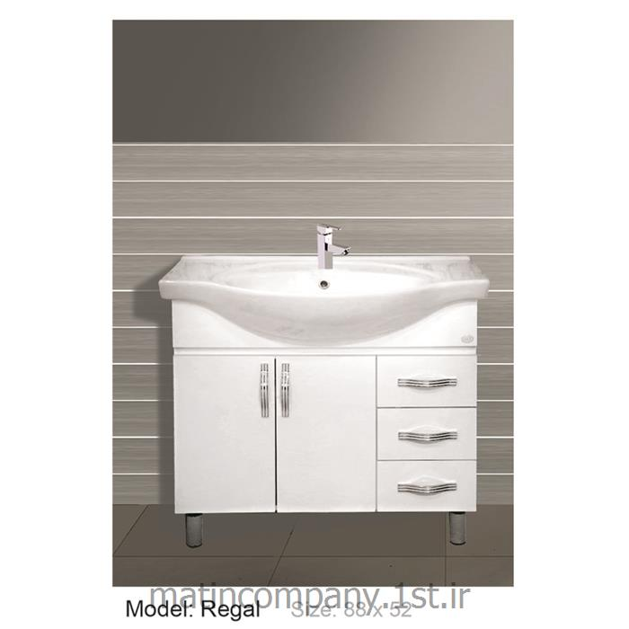 عکس کمد حمام و توالتکابینت تمام pvc دستشویی و حمام Regal