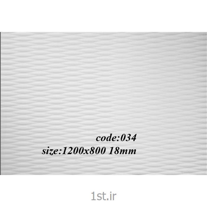 عکس سایر مصالح ساختمانی پلاستیکیورق پی وی سی پرسی طرح دار کد 034