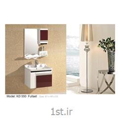 کابینت تمام pvc دستشویی و حمام مدل KD 550