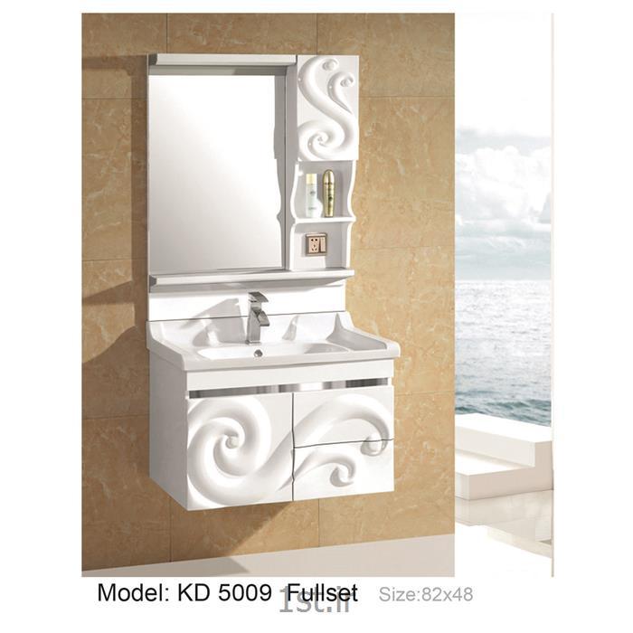 کابینت تمام pvc دستشویی و حمام مدل KD 5009