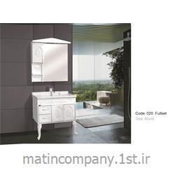 عکس کمد حمام و توالتکابینت تمام pvc دستشویی و حمام مدل 020