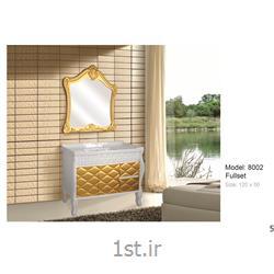 عکس کمد حمام و توالتکابینت تمام pvc دستشویی و حمام مدل KD 8002