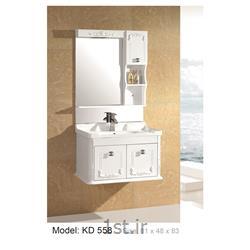 کابینت تمام pvc دستشویی و حمام مدل KD 558