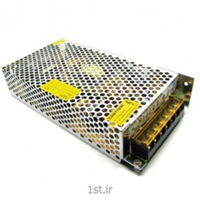 عکس لوازم جانبی محصولات تلویزیونی مداربستهآداپتور 12 ولت 10 آمپر صنعتی