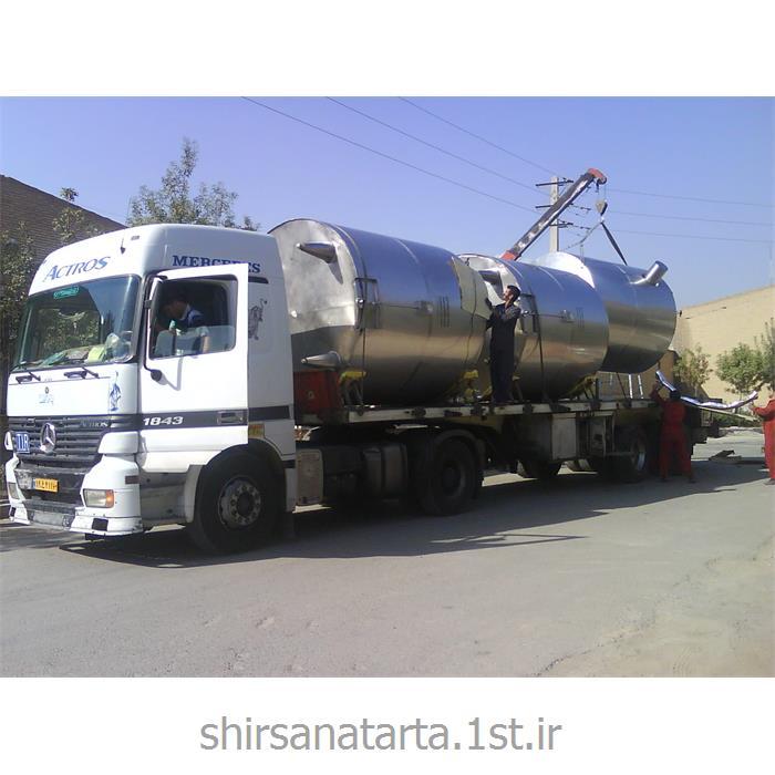 مخزن استیل ذخیره سازی صنایع غذایی