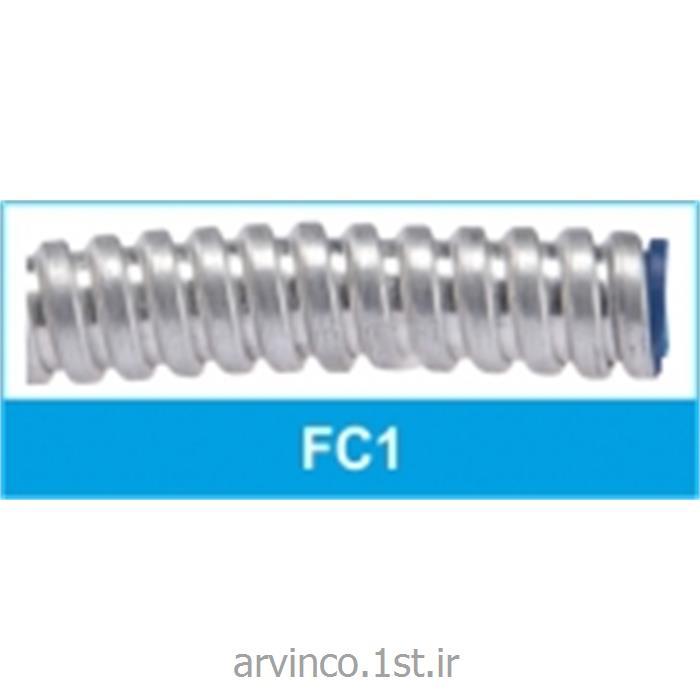 عکس لوله خرطومی کابللوله خرطومی فلکسی فلزی ساده