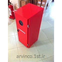 عکس سایر تجهیزات آتش نشانیجعبه کپسول خاموش کننده آتش نشانی
