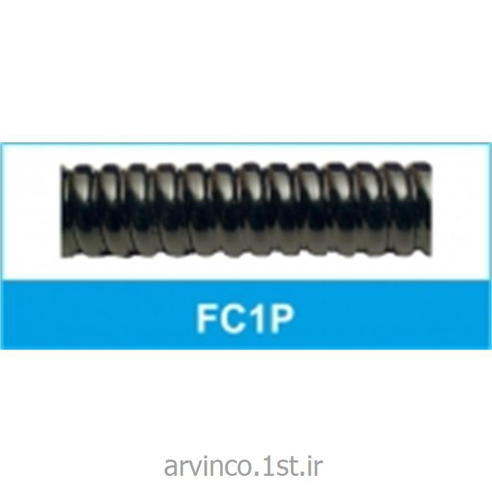 عکس لوله خرطومی کابللوله خرطومی فلکسی فلزی روکشدار