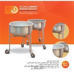 مخزن استیل حمل خمیر (پاتیل) مدل Bowl