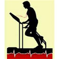 عکس تشخیص و درمان دردتست ورزش قلب و عروق