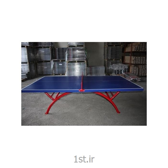عکس میز تنیس روی میز ( میز پینگ پنگ )پینگ پنگ مناسب فضای باز کد 001
