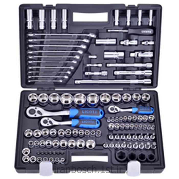 جعبه ابزار 120 پارچه لیکوتا alk-8006f licota