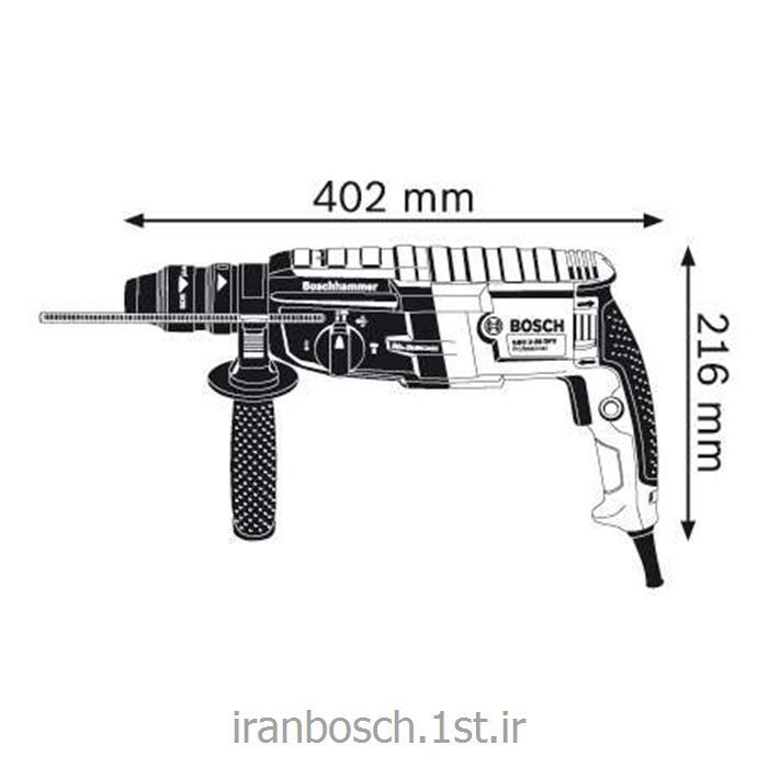 دریل چکشی (بتون کن ) بوش 880 وات مدل gbh 2-28 f<