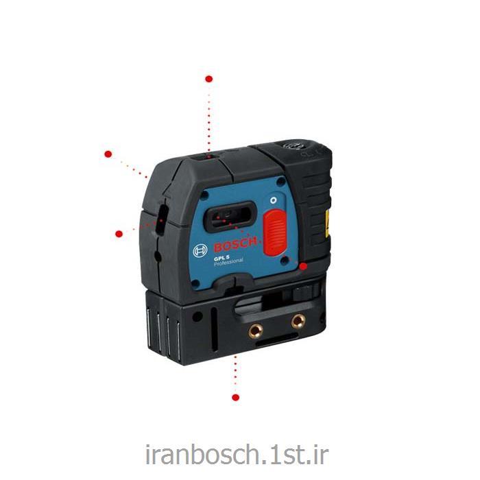 عکس تراز سنج لیزریتراز لیزری نقطه ای بوش مدل gpl 5