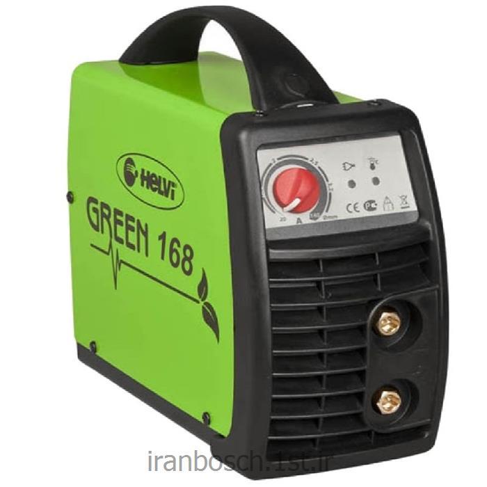عکس دستگاه جوش نقطه ایدستگاه جوش اینورتر هلوی 160 آمپر مدل green 168