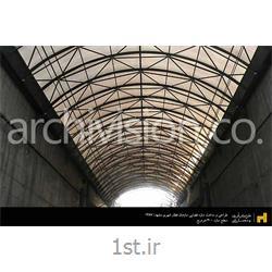 طراحی و ساخت سازه فضاکار نورگیر تونل آزادی مترو مشهد