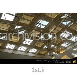 طراحی و ساخت سازه فضاکار نورگیر دانشگاه فردوسی مشهد