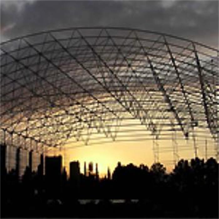 طراحی و ساخت سازه فضاکار سالن چند منظوره دانشگاه گرگان