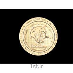 مدال روی سینه (گل سینه مدالیون) فلزی