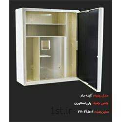 جعبه کمکهای دیواری آینه دار
