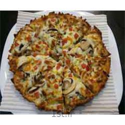 پیتزا گوشت و مرغ فاهیتا مخصوص دو نفره