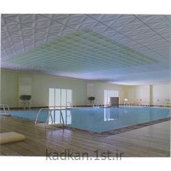 عکس پوشش سقفتایل کامپوزیت کامپوتایل دکوراتیو ابعاد  30*60 طرح موجی