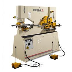 عکس ماشین آلات آهنگریدستگاه پانچ هفت کاره دو سیلندر جیکا GIKA