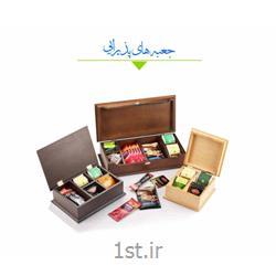 عکس جعبه نگهداری و صندوقجعبه پذیرایی تبلیغاتی کاویا