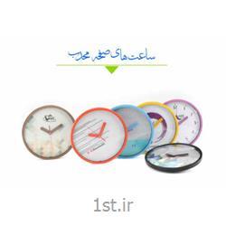 ساعت دیواری تبلیغاتی کاویا شیشه محدب