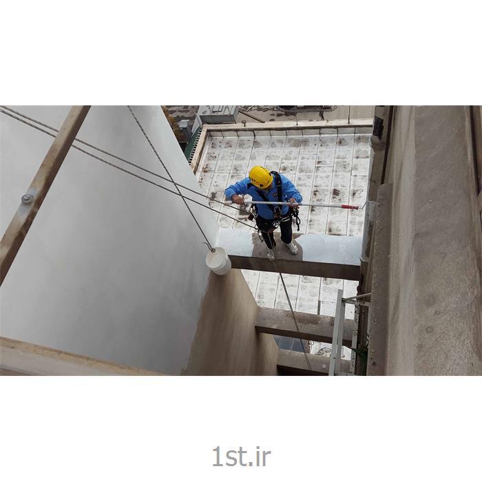 عکس خدمات ساخت و سازنما شویی و رنگ آمیزی نما ساختمان