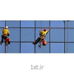اجرای پوشش نانو روی نمای ساختمان