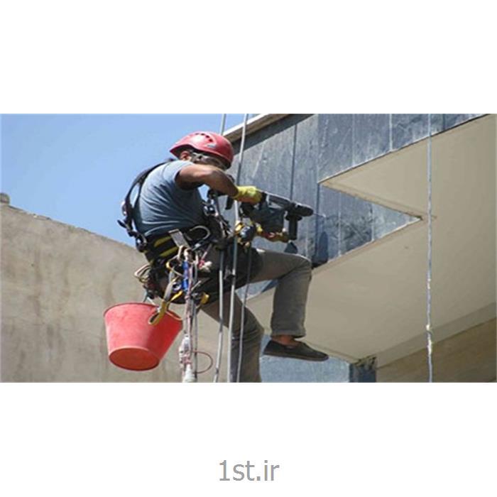 عکس خدمات ساخت و سازاجرای پیچ و رولپلاک سنگ نما